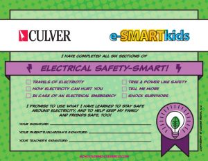 Electrical Safety-SMART certificate