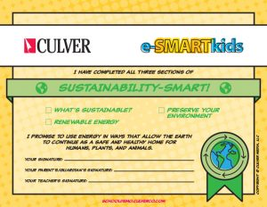 Sustainability-SMART certificate
