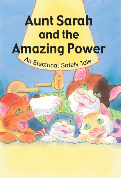 36416 Aunt Sarah the Amazing Power An Elect Safety Tale lg