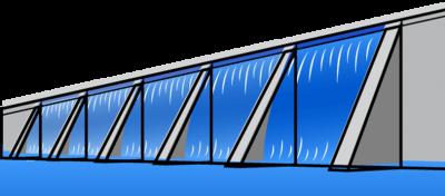 66403 hydropower line art